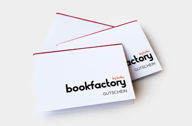 Bookfactory Gutschein